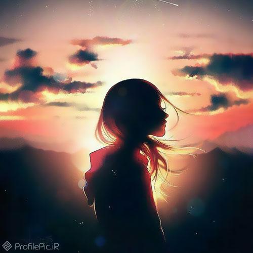 عکس پروفایل غمگین دخترانه بدون متن