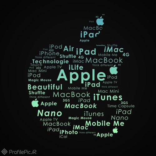 عکس پروفایل لوگو اپل