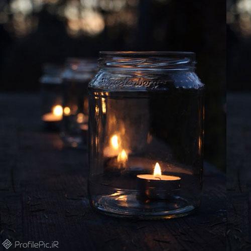 عکس پروفایل شمع شام غریبان