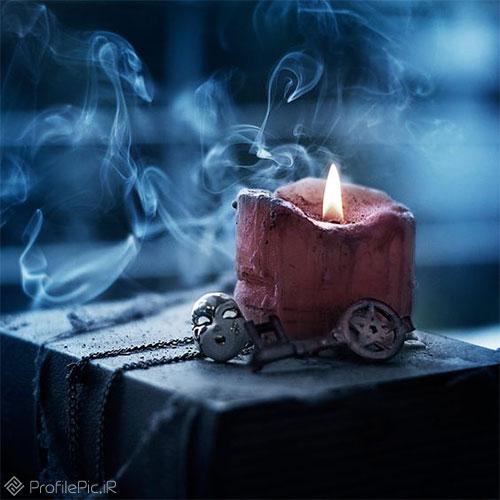 عکس شمع روشن برای پروفایل