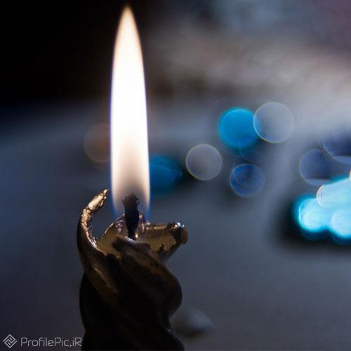 عکس پروفایل شمع