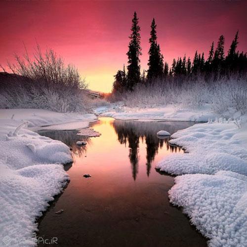 عکس پروفایل زمستان زیبا