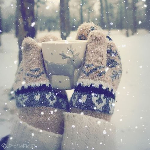 عکس پروفایل زمستان فانتزی