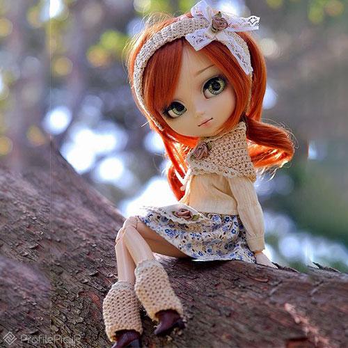 دخترونه عروسکی