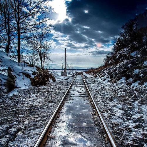 ریل قطار عاشقانه