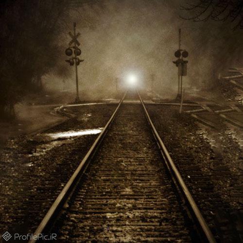 پروفایل نقاشی ریل قطار