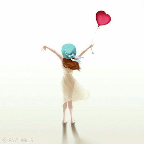 عکس پروفایل دخترونه فانتزی عروسکی