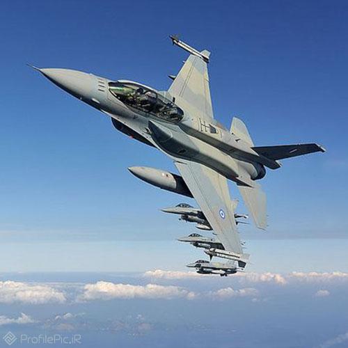 عکس هواپیمای نظامی