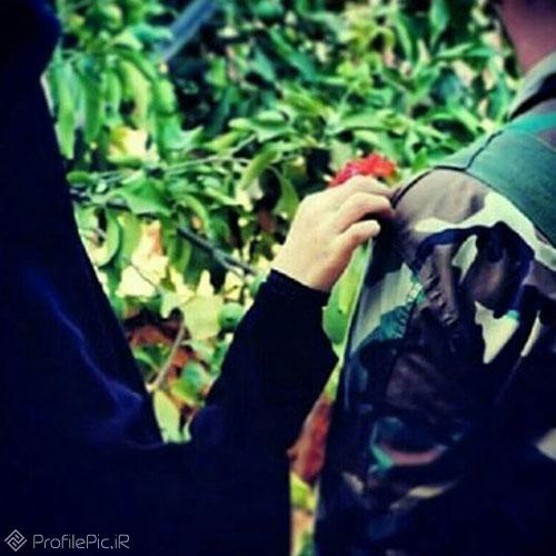 عکس پروفایل ارتشی عاشقانه
