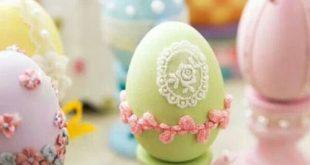 عکس زیبا از تزیین تخم مرغ عروس