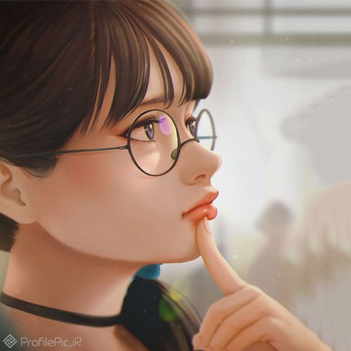 عکس ژست دخترونه برای پروفایل