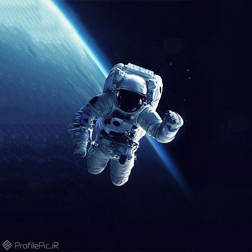 عکس فضانورد برای پروفایل
