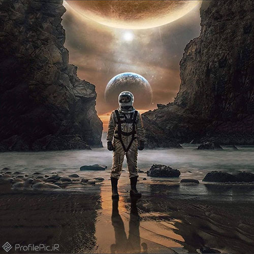 پروفایل خاص و ناب از فضانورد