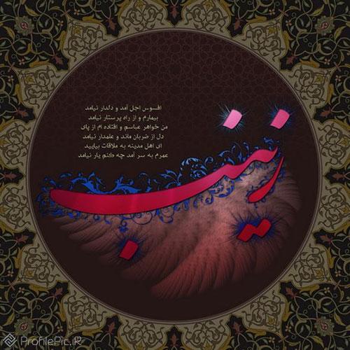 شعر زینب برای پروفایل