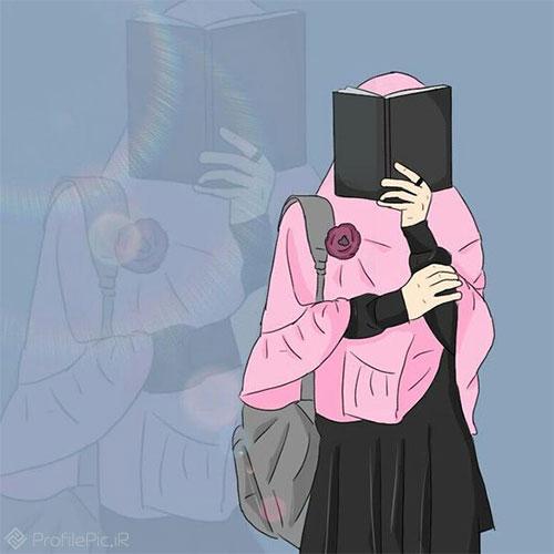 عکس دختر بدون چهره برای پروفایل تلگرام