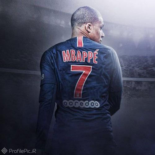عکس امباپه برای پروفایل فوتبالی