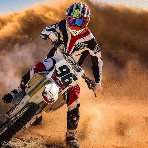 عکس پروفایل موتور سواری