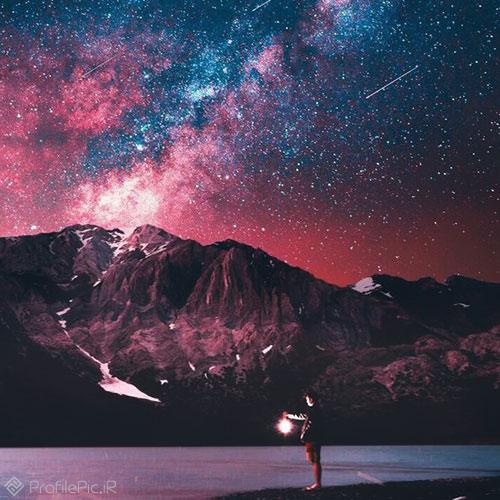 عکس های فوق العاده زیبا از آسمان شب و ستاره ها