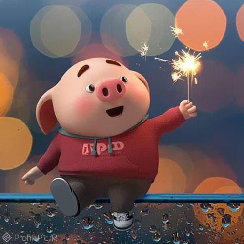 عکس پروفایل مخصوص سال خوک