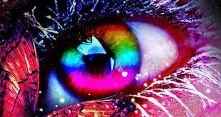 عکس پروفایل چشم رنگی