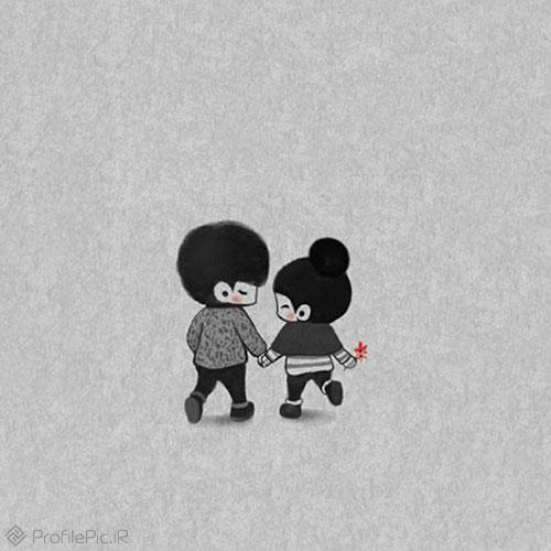 عکس عاشقانه لاکچری بدون متن