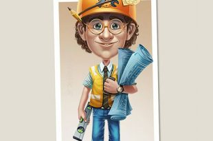 نقاشی برای پروفایل روز مهندس
