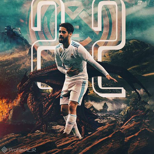 ایسکو ستاره ی اسپانیایی رئال مادرید