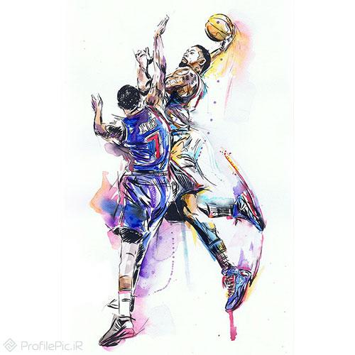 عکس های بسکتبالی برای پروفایل