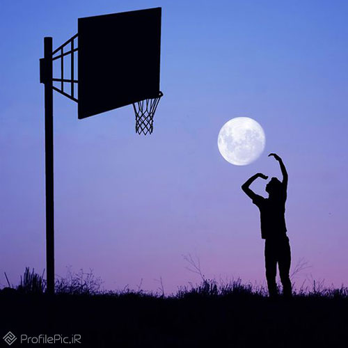 عکس پسر بسکتبالیست برای پروفایل