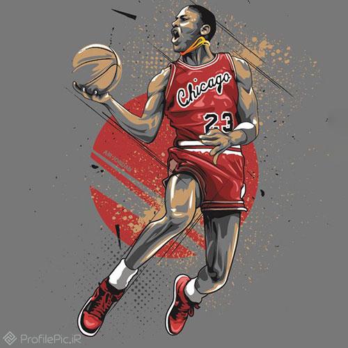 عکس بسکتبال کارتونی