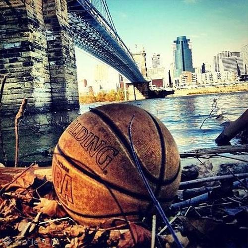 عکس توپ بسکتبال برای پروفایل