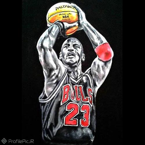 عکس نمایه زیبا برای پروفایل بسکتبالی