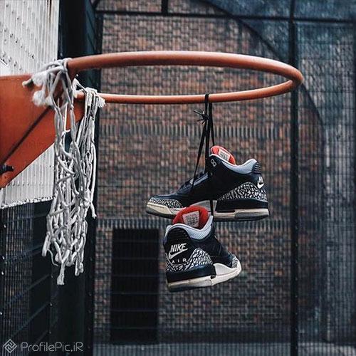 عکس جالب برای پروفایل بسکتبالیست