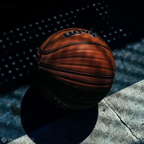 توپ بسکتبال برای عکس پروفایل